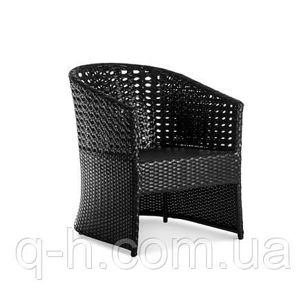Кресло Taiti плетеное из искусственного ротанга, фото 2