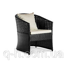 Кресло Taiti плетеное из искусственного ротанга, фото 3