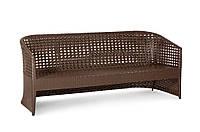 Плетеный диван из ротанга Taiti