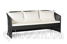 Плетеный трехместный диван 191 см из искусственного ротанга Таити  (taiti_3), фото 3