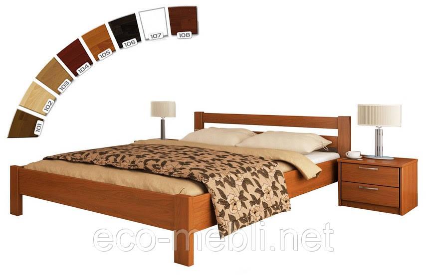 Двохспальне ліжко Estella Рената (Бук)