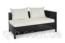 Плетеный элемент угловой дивана из искусственного ротанга Egypt, фото 2