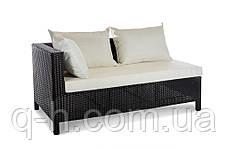 Плетеный элемент угловой дивана из искусственного ротанга Egypt, фото 3