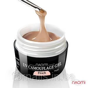 Камуфляжный Гель Naomi - UV Camouflage Gel Peach 28г (персиковый)