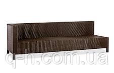 Плетеный угловой диван из искусственного ротанга Egypt, фото 2