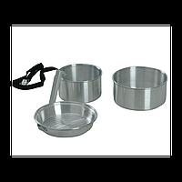Набор туристической посуды KingCamp Camper 2 Silver