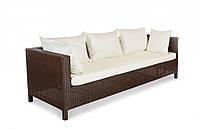 Плетеный диван из искусственного ротанга Египет трехместный 220x80x70 см (Egypt - 12)