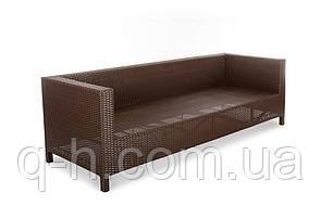 Плетеный диван из искусственного ротанга Египет трехместный 220см (Egypt - 12), фото 3