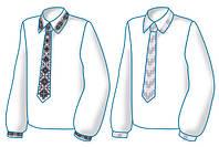 """Схема для вышивания мужская """"Вышиванки с вышитым галстуком"""" Диана+"""