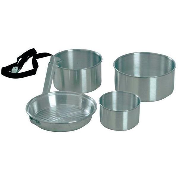 Набор туристической посуды KingCamp Camper 3 Silver