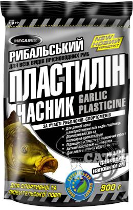 Рыболовный пластилин Megamix, 500г, Чеснок