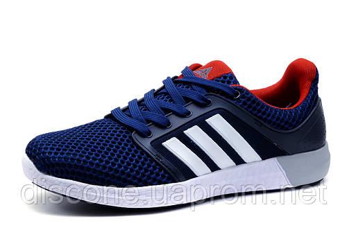 Кроссовки мужские Adidas, сетка, синие