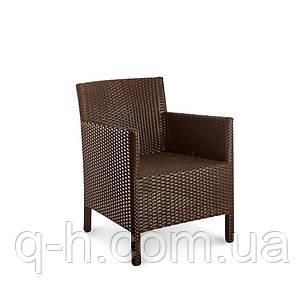 Плетеное кресло KIPR из искусственного ротанга, фото 2