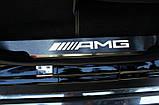 Накладки на дверные пороги c Led подсветкой AMG на Mercedes G-Сlass W463 (хром), фото 2
