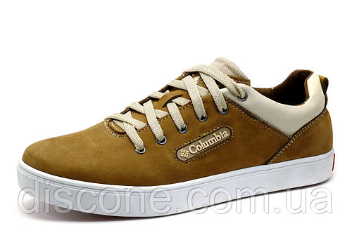 Туфли мужские Columbia, спортивные, оливковые, кожаные