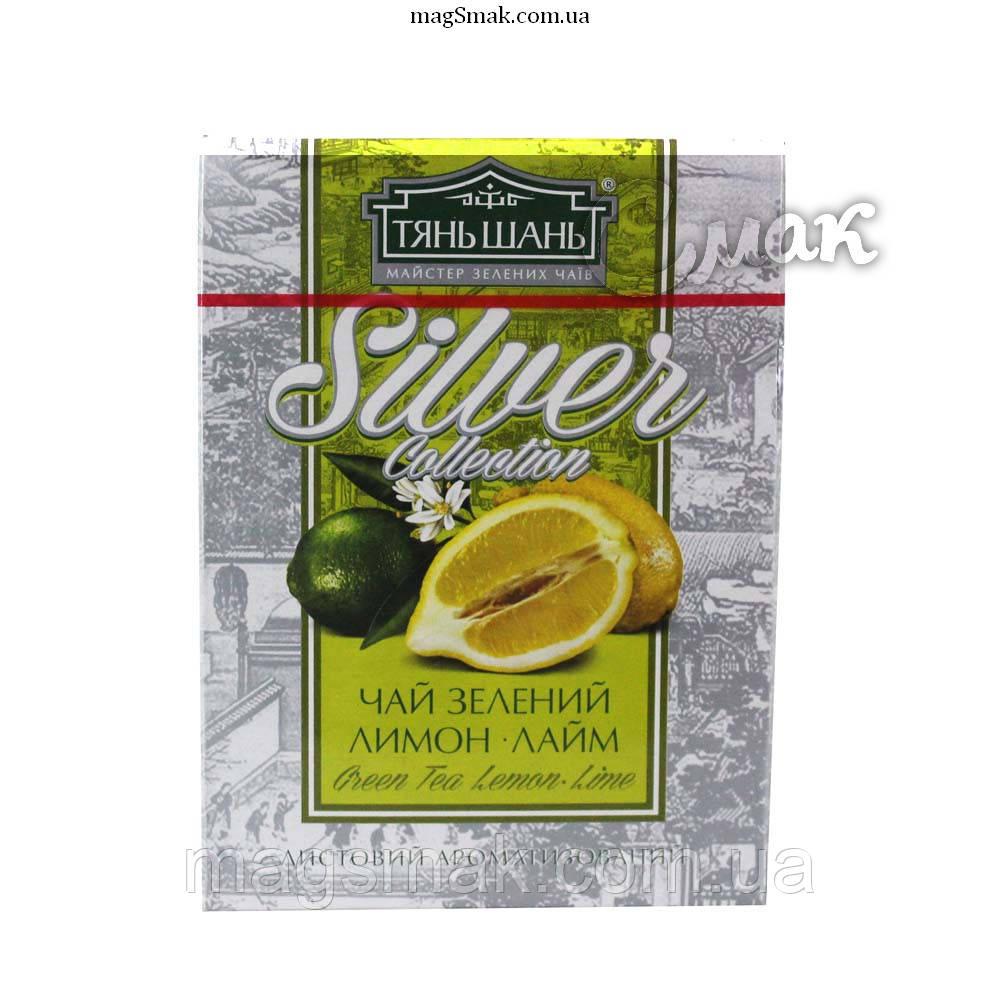 Чай «ТяньШань» Silver с лимоном,  листовой, 100 г.