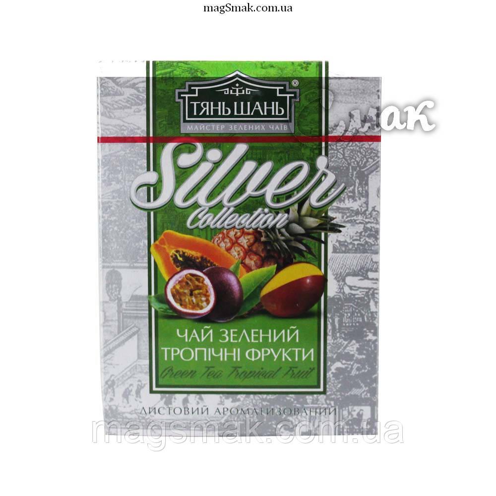 Чай «ТяньШань» Silver Тропические фрукты,  листовой, 100 г.