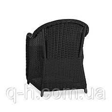 Кресло SEVILIA плетеное из искусственного ротанга, фото 3