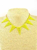 Солнечное украшение на шею