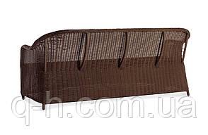 Диван трехместный плетеный из искусственного ротанга 188 см Севилья (Sevilia-01), фото 3