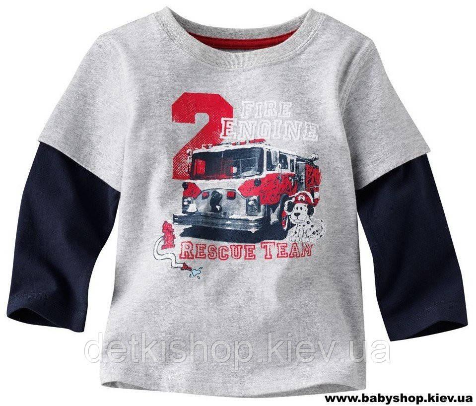 Реглан на мальчика «Пожарная Машина»