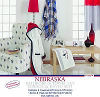 Набор - 1 халат и 2 полотенца U.S.Polo Assn - NEBRASKA XL