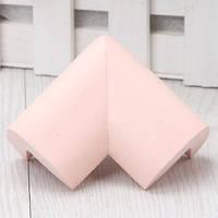 Угловая защита на мебель - большая. Розовый., фото 1