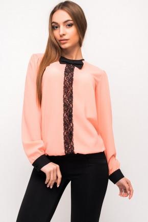 Шифоновая блуза Гипюр, фото 1