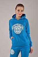 Бирюзовый женский теплый прогулочный костюм UGG® Australia