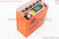 Аккумулятор 5Аh гелевый с информационным дисплеем на Active 120/60/130 мм