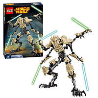 Конструктор KSZ серия Space Wars 714 Генерал Гривус (аналог Lego Star Wars 75112)