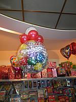 """Шар """"сюрприз"""" с воздушными шарами внутри"""