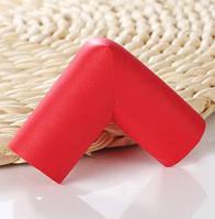 Мягкая накладка на углы - стандартная. Красный.