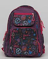 Ортопедический школьный рюкзак для девочки