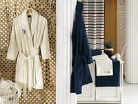 Набор - 1 халат и 4 полотенца U.S.Polo Assn - HENDERSON кремовый M