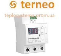 Терморегулятор Terneo sn для управления системой cнеготаяния (на DIN-рейку), Украина