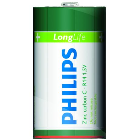 Батарейка Philips Longlife R14