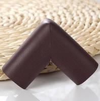 Мягкая накладка на углы - стандартная. Темно-коричневый.
