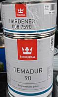 Краска металлик Tikkurila Темадур 90 TML с крупным зерном, 0.75л +0.15 отвердитель