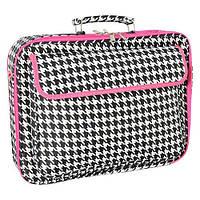 """Женская сумка для ноутбука  17"""" World Traveler Houndstooth Laptop Case, фото 1"""