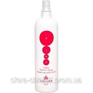 Спрей-термозащита для выпрямления волос Kallos flat iron spray