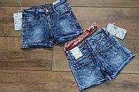 Джинсовые шорты для девочек. 5- 6 лет