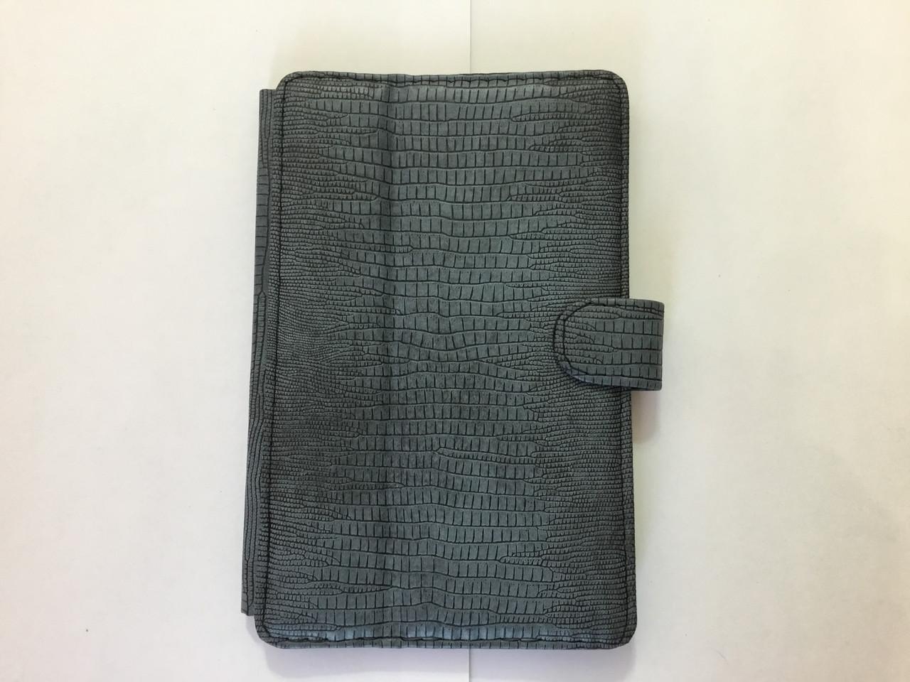 Чехол на планшет 7 дюймов MELENYUM (Серый винил)рептилия