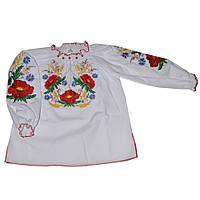 Вышиванка для девочки Польові квіти ТМ Деньчик