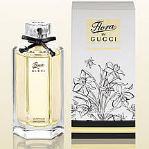 Gucci Flora by Gucci Glorious Mandarin туалетная вода 100 ml. (Гуччи Флора Бай Гуччи Глориус Мандарин), фото 3