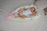 Позиционер для малыша BabyNest Чайная роза, фото 1