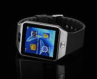 Смарт часы DZ 09 silver для iOS/Android (смарт часы), фото 1
