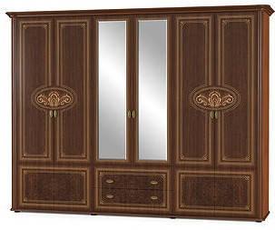Шкаф Алабама 6Д Мебель-Сервис