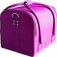 Чемодан мастера тканевый фиолетовый ch-2700-1bb yre