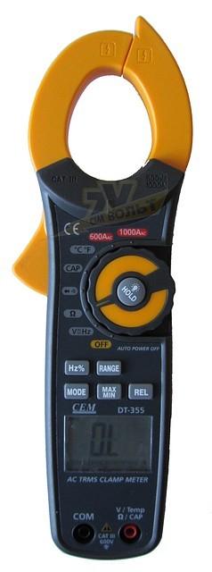 CEM DT-355 Професійні струмові кліщі